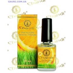 Масло для ногтей Апельсин и Лемонграсс Чанди, Chandi Nail Oil Orange-Lemongrass