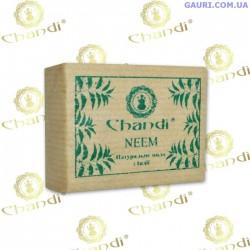 Натуральное мыло Ним Чанди, Neem Soap Chandi, 90 грм.