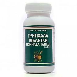 Трифала Пунарвасу очищение и омоложение, Triphala Punarvasu 100 таблеток