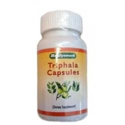 Трифала Бадьянатх экстракт в капсулах очищение и омоложение, Triphala Baidyanath, 60 капсул