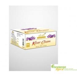 Крем омолаживающий увлажняющий Шафрановый Кесар от Шри Шри Аюрведа, 100 мл, Sri Sri Ayurveda Kesar Cream