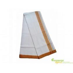Дхоти хлопок, цвета в ассртимете 4 м., Cotton Dhoti India