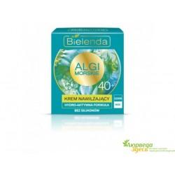 Крем для лица Морские Водоросли увлажняющий 40+ 50 мл. день, ночь, Bielenda Bielenda Sea Algae Moisturizing Cream