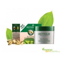 Питательная анти возрастная маска Биотик Био Фисташка, Biotique Bio Pistachio Ageless Nourishing & Revitalizing Face Pack pack
