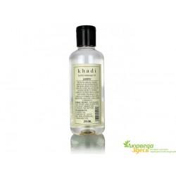 Масло массажное Жасмин Кхади, Khadi Herbal Massage oil Jasmine, 210 мл., Аюрведа Здесь