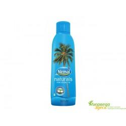 Кокосовое масло 200 мл. Nirmal пищевое и для волос и тела, источник 100% натуральной красоты!