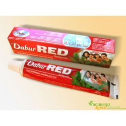 Красная Зубная паста Dabur Red Дабур Рэд, 100 грм., Киев, Аюрведа Здесь!