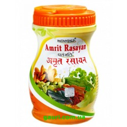 Амрит Расаяна Чаванпраш, 1кг, классическая рецептура с удивительными свойствами, Amrit Rasayan, Patanjali