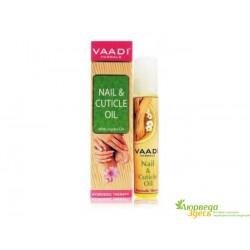 Масло для ногтей и кутикулы Ваади Nail, Cuticle Oil with Jojoba Oil Vaadi 10мл