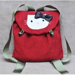 Рюкзак детский с апликацией - изделие ручной работы