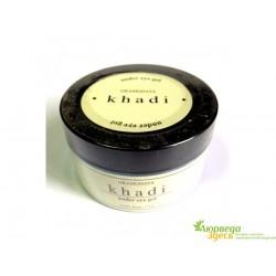 Гель под глаза натуральный Миндальное масло и масло Ростков Пшеницы, Natural under eye gel, Khadi Gramudyog, 50грм