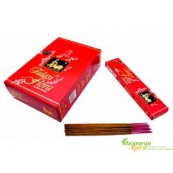 Благовоние Tulasi Flora Туласи Флора с ароматом Священной травы Туласи, Tulasi Flora Sarathi