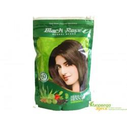Хна для волос Блэк Роз 140 грм. с натуральными Аюрведическими травами и плодами, Black Rose Herbal Henna
