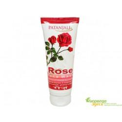 Гель для умывания Роза, Патанджали, Patanjali, Divya Rose Face Wash