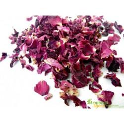 Роза Чайная лепестки сушёные, 25 грм
