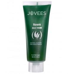 Гель для умывания, от прыщей с Нимом Джовис, Neem Face Wash Jovees