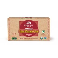 Чай органический Тулси, Базилик - Масала, 25пак. Tulsi-Masala, Organic India