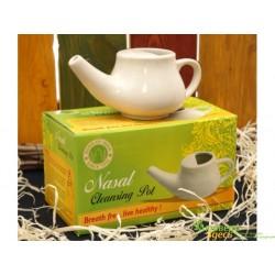 Нети Пот керамический 17*9*7см., Neti Pot, Чайничек для промывания носа.