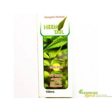 Масло Нима Neem oil 100 мл., Neem Taila, Gangotri Herbals