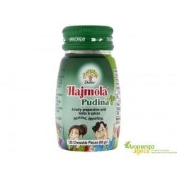 Дабур Хаджмола Пудина мятные таблетки, Hajmola Pudina Dabur, вкусно и пищеварительно!