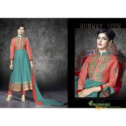 Костюм Anarkali Heer Runway 100K, шикарный восточный костюм, Индия!