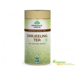 Чай Дарджилинг Органик Индия, Darjeeling Tea, Organic India, 100 грм.