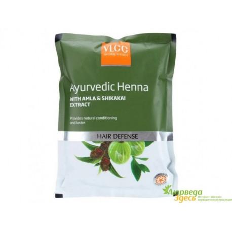 Хна для волос VLCC Ayurvedic Henna с Амлой и Шикакай