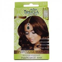Краска природная Триюга Шоколад для волос на основе натуральной хны Триюга-ОМ, Triuga Herbal 25грамм