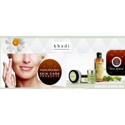 Маска для лица травяная Роза Кхади для жирной кожи, Rose Herbal Face Pack Khadi
