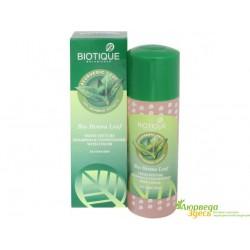 Шампунь с кондиционером Листья Хны 120 мл. Био Хна, Biotique Bio Henna Leaf Fresh Texture Shampoo & Conditioner With Color