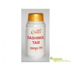 Дашмула, приводит в норму гормональные органы, Дашамула, Dashmul tab, Shri Ganga