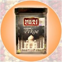 Черный Индийский Чай Мери Чай Суприм Пекое жел.банка, Meri Chai Pekoe Supreme