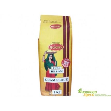 Мука Нутовая Бесан (Индийский Горох) 1кг., истинно индийский продукт, Besan