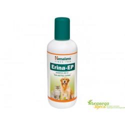 Шампунь для животных против паразитов Хималая, Himalaya Erina-EP Shampoo 200 ml Tick and Flea control