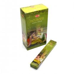 Благовоние пыльцовое Patchouli Masala Small Box Hem с ароматом Пачули, (Патчоли)