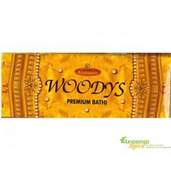 Благовоние Krishnakala Woods Кришнакала Вудс с ароматом Сандала и Индийских Джунглей!