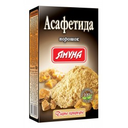 Асафетида 50% Ямуна натуральная приправа и лекарство, Asafoetida 100 грамм