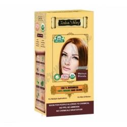 Краска лечебная Долина Инда 100% натуральная и органическая, Махагони (120 г), 100% Botanical Hair Colour Mahagony, Indus Valley