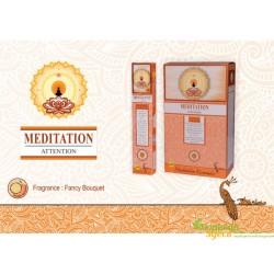 Благовоние пыльцовое Meditation, Sree Vani, 15 г. с интенсивным ароматом Цветов, Ладана и Амбры