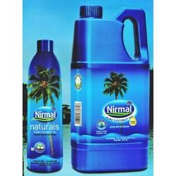 НАТУРАЛЬНОЕ ПИЩЕВОЕ КОКОСОВОЕ МАСЛО ДЛЯ ВОЛОС И ТЕЛА «KLF NIRMAL» 1 литр