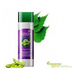 Шампунь для окрашенных волос и волос с химической завивкой с протеином Сои Биотик 120 мл, Biotique Bio Soya Protein FRESH
