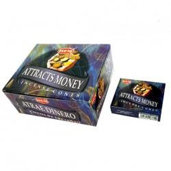 Ароматические конусы Привлечение Денег, Attracts Money Hem, благовония конусы.