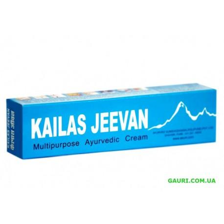 Кайлаш Дживан, многофункцианальное лекарство, Kailas Jeevan Cream, 12грамм