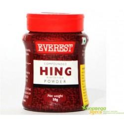 АСАФЕТИДА 25 грм. красная Asafoetida Everest super, натуральная приправа и лекарство.