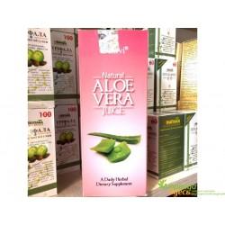 Сок Алоэ Вера с мякотью, Aloe Vera Juice, Dehlvi Naturals.