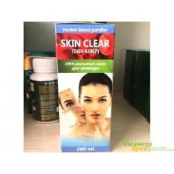 Аюрведический сироп Скин Клиер очищение всего организма. Skin Clear Dehlvi Naturals, Отменный результат!