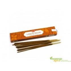 Благовоние пыльцовое Hem Sandalwood Masala Small Box с ароматом настоящего Сандала!