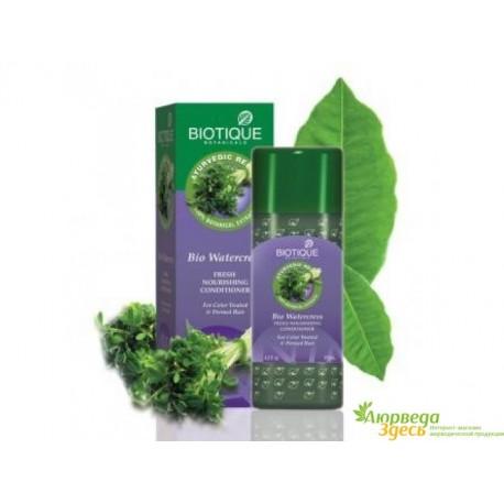 Био Кресс кондиционер для волос, Biotique Bio Water Cress Fresh Nourishing Conditioner.
