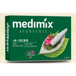 Аюрведическое мыло Medimix (Медимикс) 18 трав, 125грамм, Cholayil Ltd