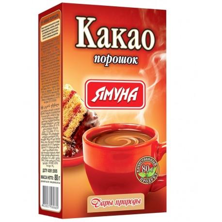 Какао порошок светлый 80 грамм